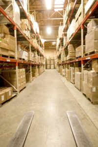 RFID Technology Warehouse