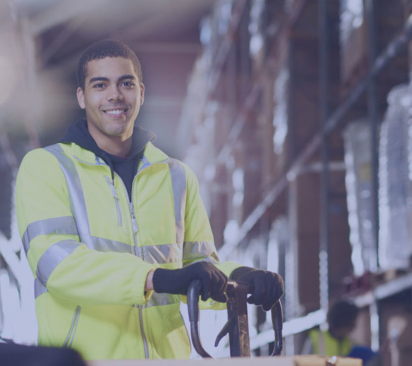 Reverse Logistics - Featured Image - Man Working in Warehouse Safely