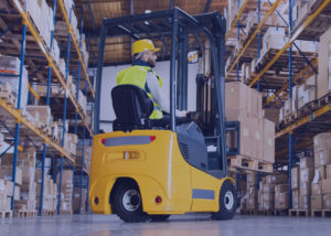 Featured Image - Person Using a Forklift in a Warehouse - OS Migration