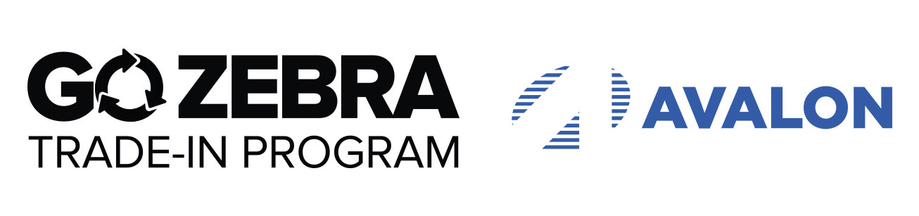 Go Zebra Trade-in Program Logo and Avalon Integration Logo
