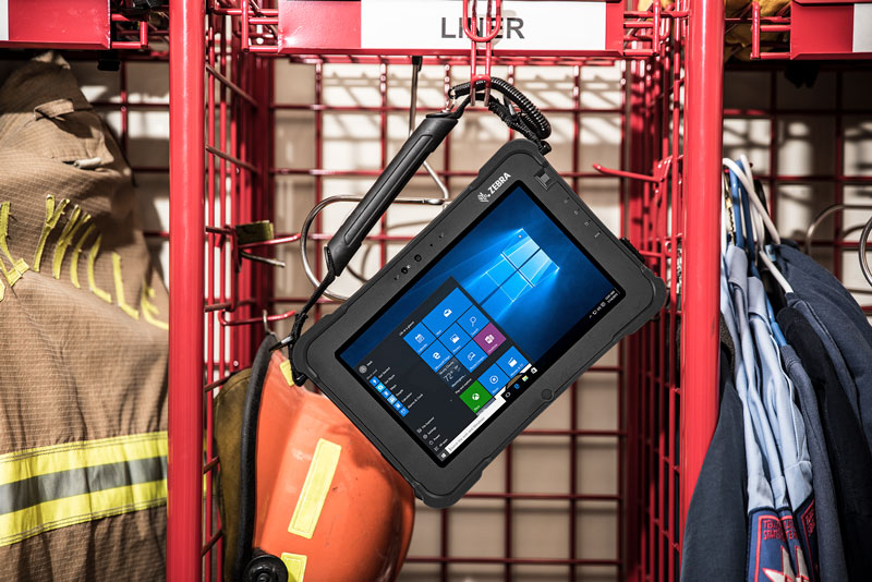 Zebra XSLATE L10 - Public Safety Fire Equipment