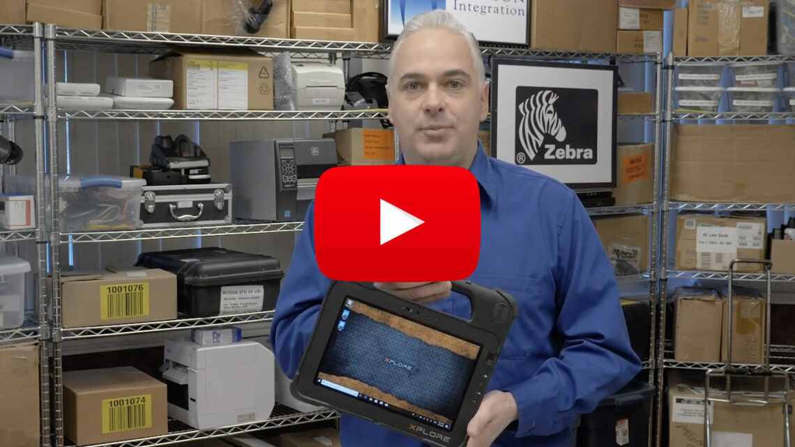 Zebra Rugged L10 Tablet Unboxing and Review Youtube Video
